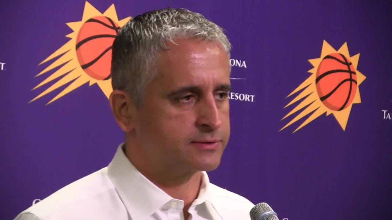 Phoenix Suns coach Igor Kokoskov talks about Wednesday night's 132-127 loss to the Philadelphia 76ers at Talking Stick Resort Arena.