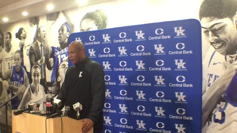 UK coaches are defining roles for the Wildcat players during Camp Cal.
