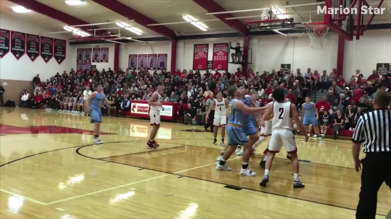 Pleasant beat River Valley at home Thursday night 62-53 in a Mid Ohio Athletic Conference boys basketball game.