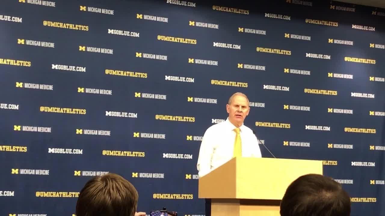 Michigan's John Beilein recaps Penn State win.