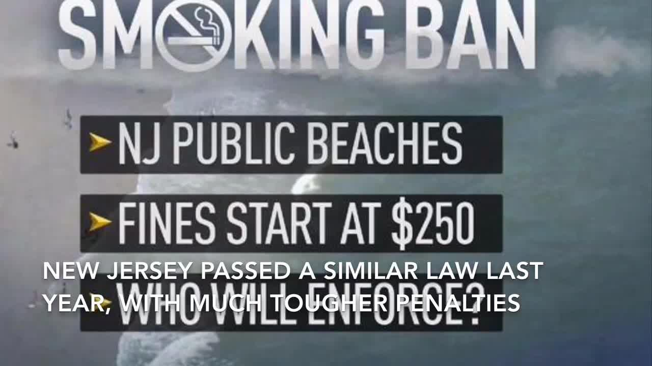 A Florida senator is proposing fines and penalties for those who smoke on Florida's beaches.