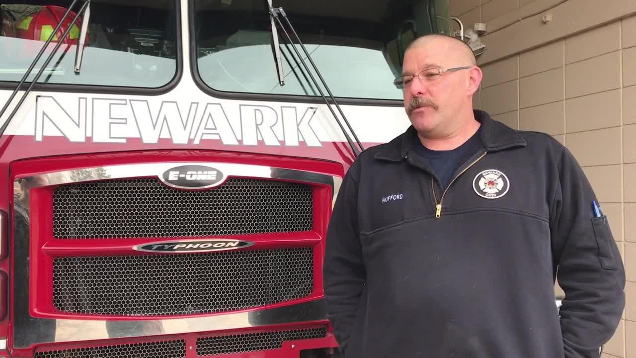 Newark firefighter Jason Hufford struggled with post-traumatic stress. After therapy, now he's hoping to help others.