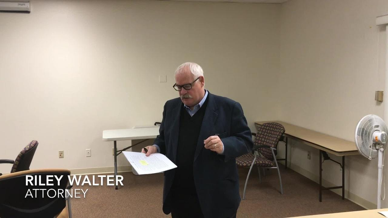Attorney Riley Walter announces Tulare hospital board settlements