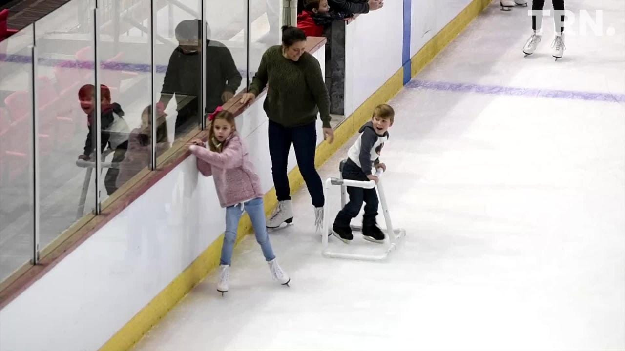 The Kay Yeager Coliseum hosted an open skate event Friday afternoon.