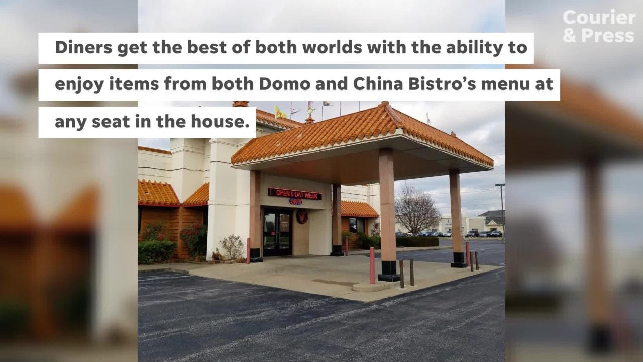 Domo Sushi Bar and Ramen House opened inside China Bistro, so now diners may choose from fine Chinese and Japanese dishes.