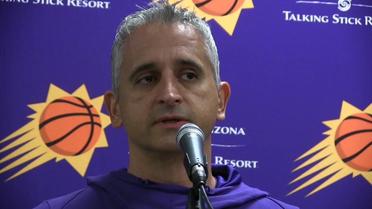 Phoenix Suns first-year head coach Igor Kokoskov talks about where the team is right now near the halfway point of the 2018-19 season.