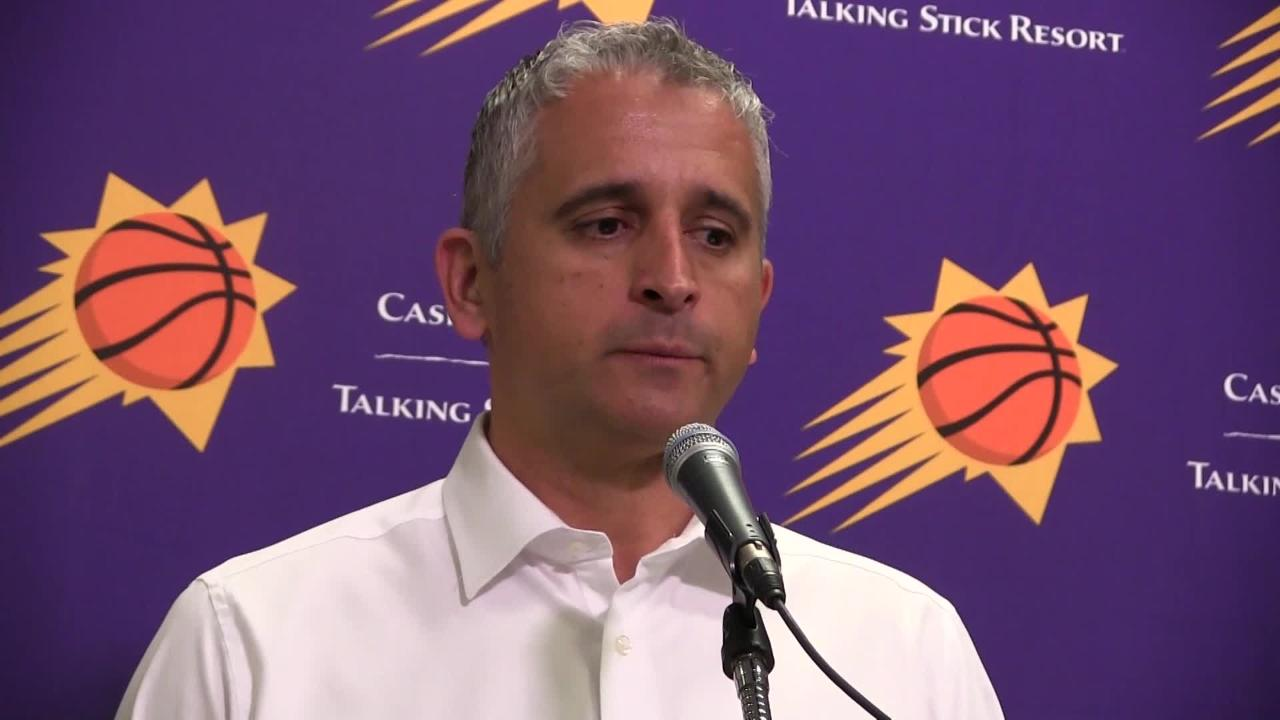 Phoenix Suns talk about losing their fifth consecutive game after another poor start in Friday night's home loss to the Los Angeles Clippers.