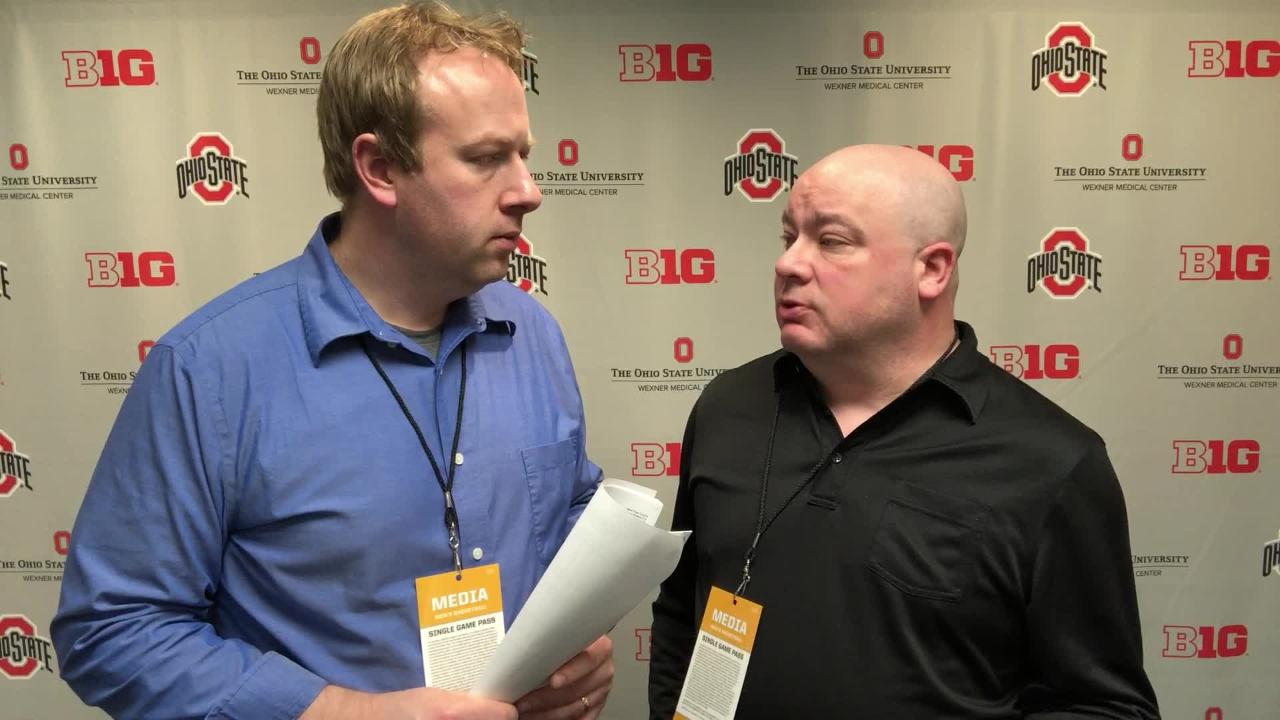 Lansing State Journal columnist Graham Couch and Freep MSU beat writer Chris Solari analyze the Spartans' win over the Buckeyes