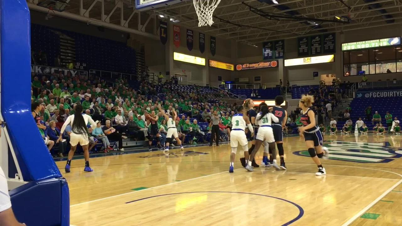 Defending ASUN champ FGCU looked strong in its ASUN debut while beating conference newcomer Liberty in Alico Arena