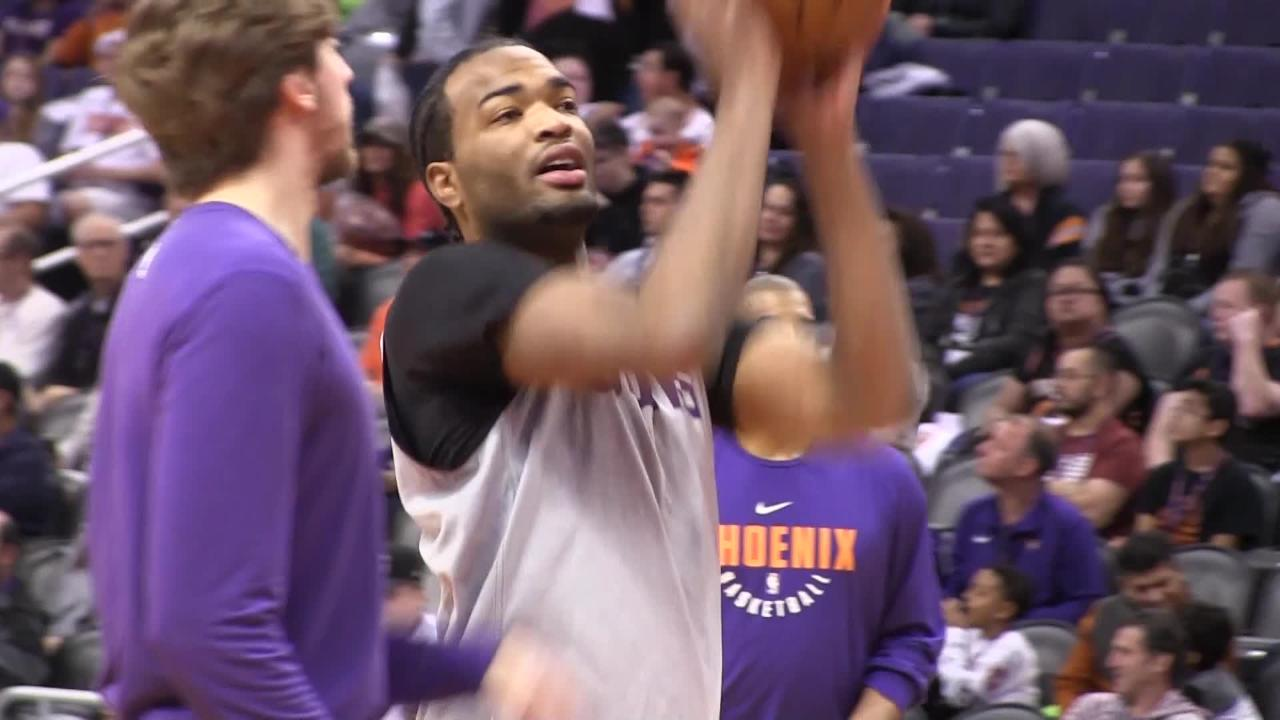 Phoenix Suns have an open practice for season ticket holders Saturday afternoon at Talking Stick Resort Arena after having their regular practice.