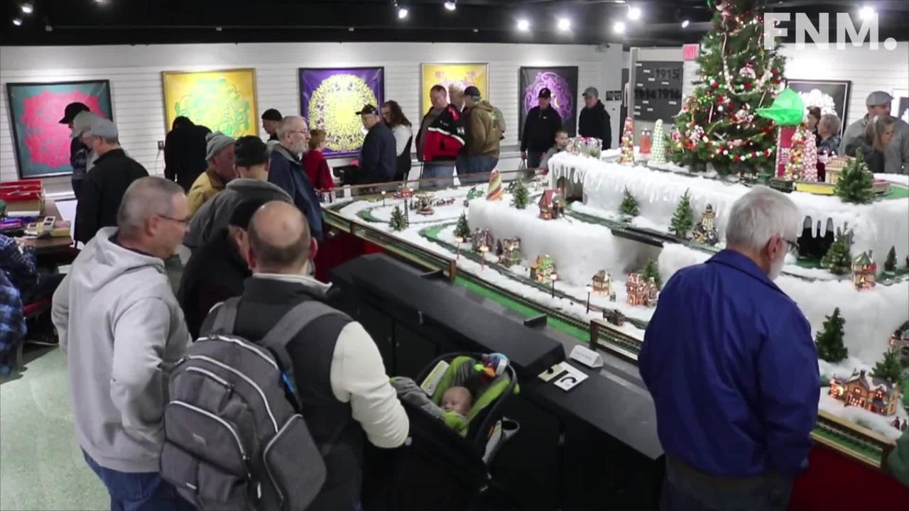 The Rutherford B. Hayes Presidential Library and Museums' annual model train clinic had something to offer for everyone.