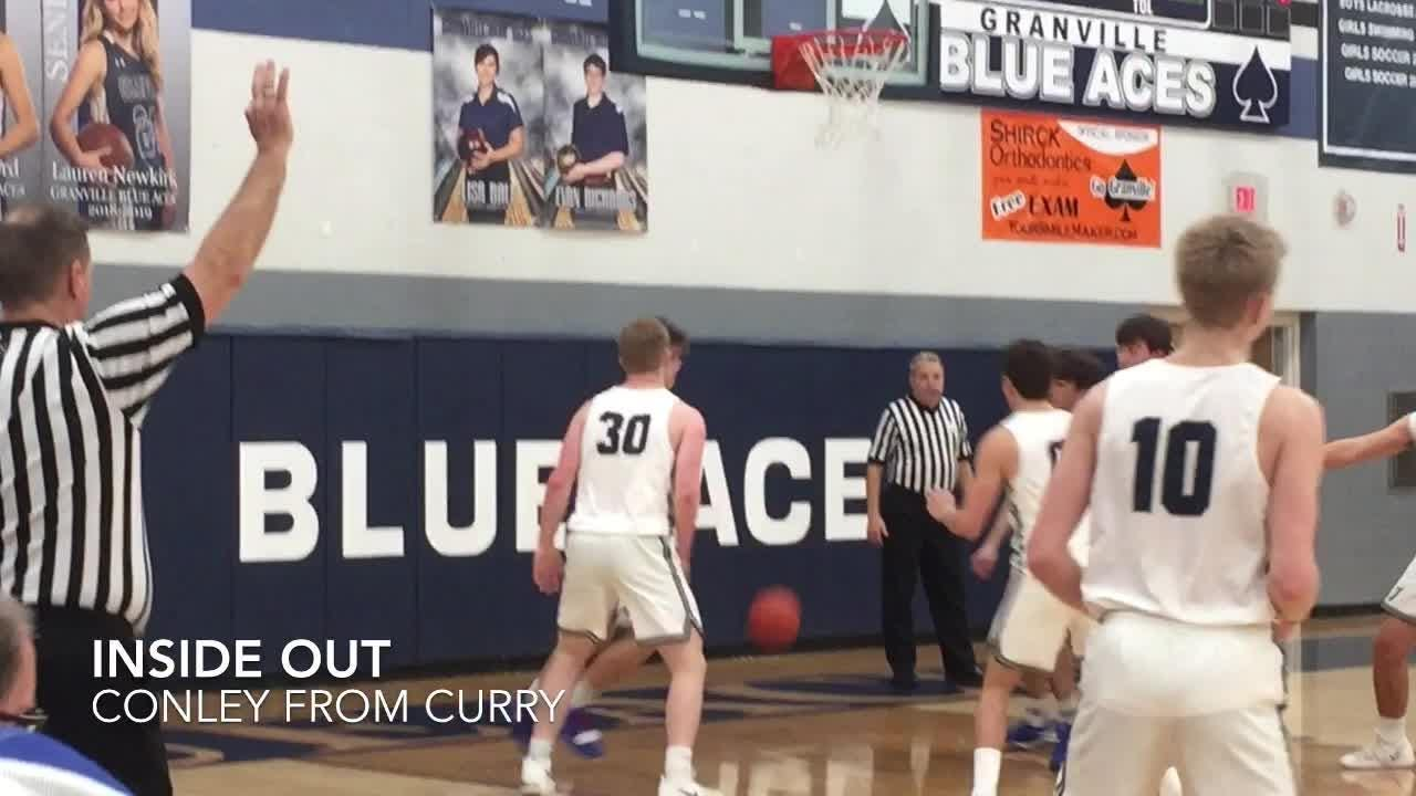 Host Granville boys held Licking Valley to 8 first-half points en route to a 53-25 LCL-Buckeye win.