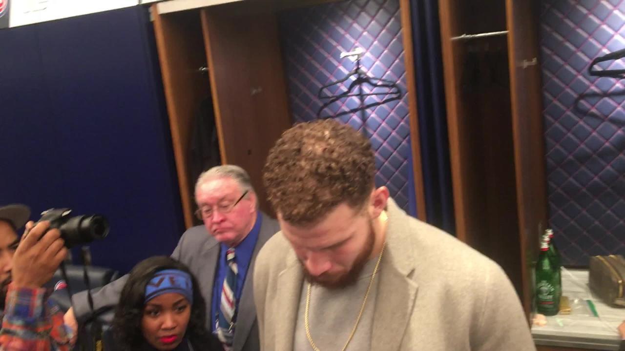 Blake Griffin on Detroit Pistons' loss to  Utah Jazz, 110-105: 'Turnovers killed us'
