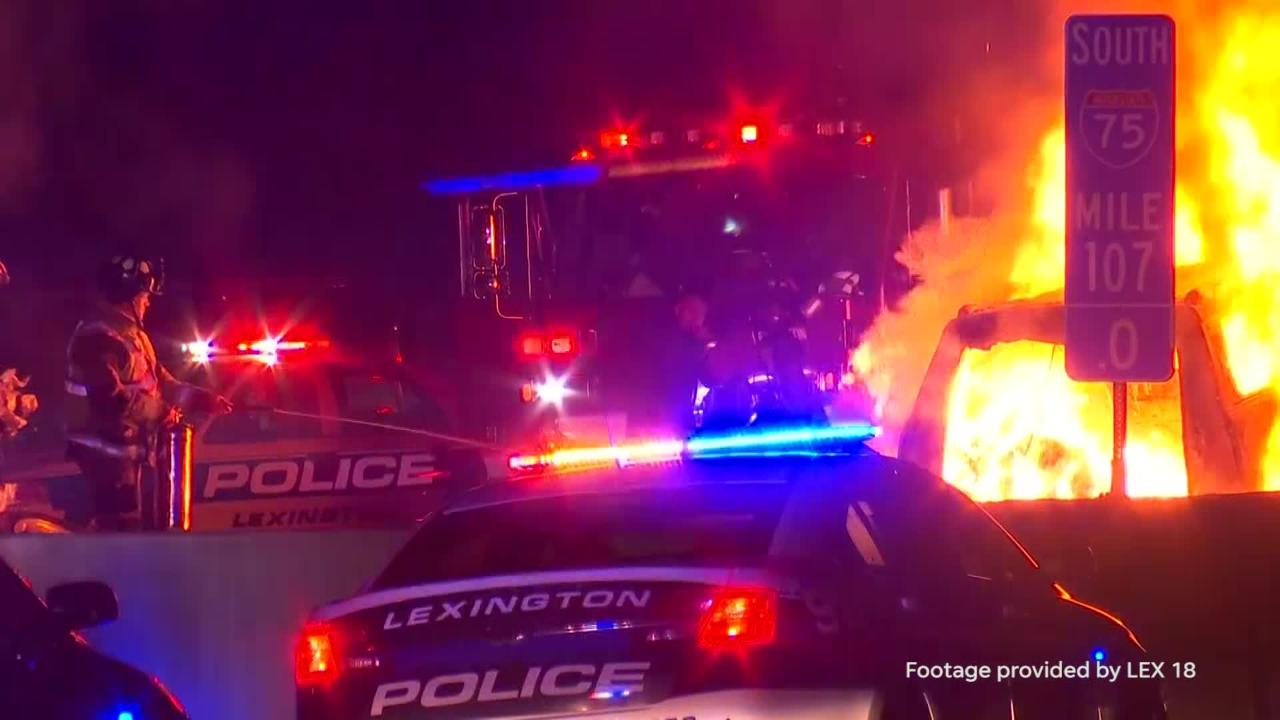 Michigan family of 5 killed in fiery crash caused by wrong-way driver