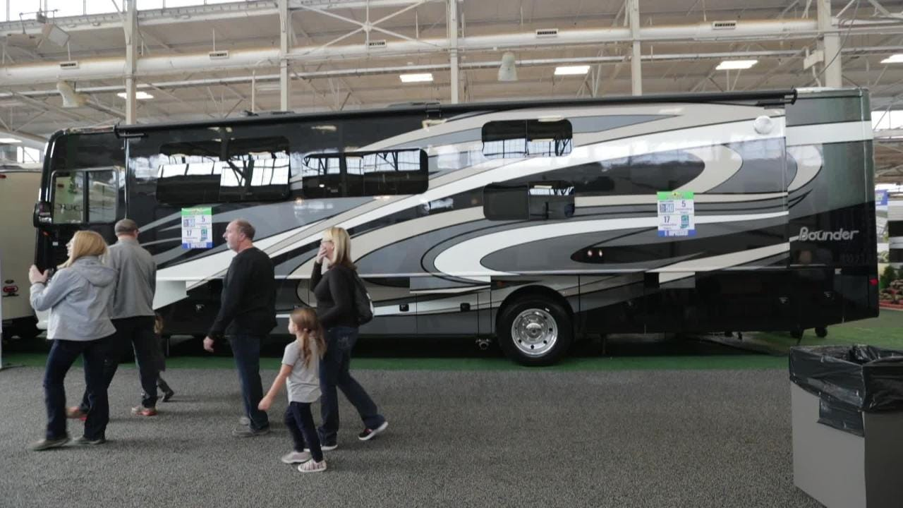 Justin Mack, IndyStar reporter, talks about his favorite picks from this year's RV show, running at the State Fairgrounds through the 13th