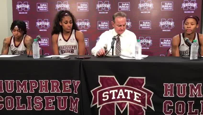 """Mississippi State head coach Vic Schaefer was """"tired"""" after his team's win over Kentucky."""