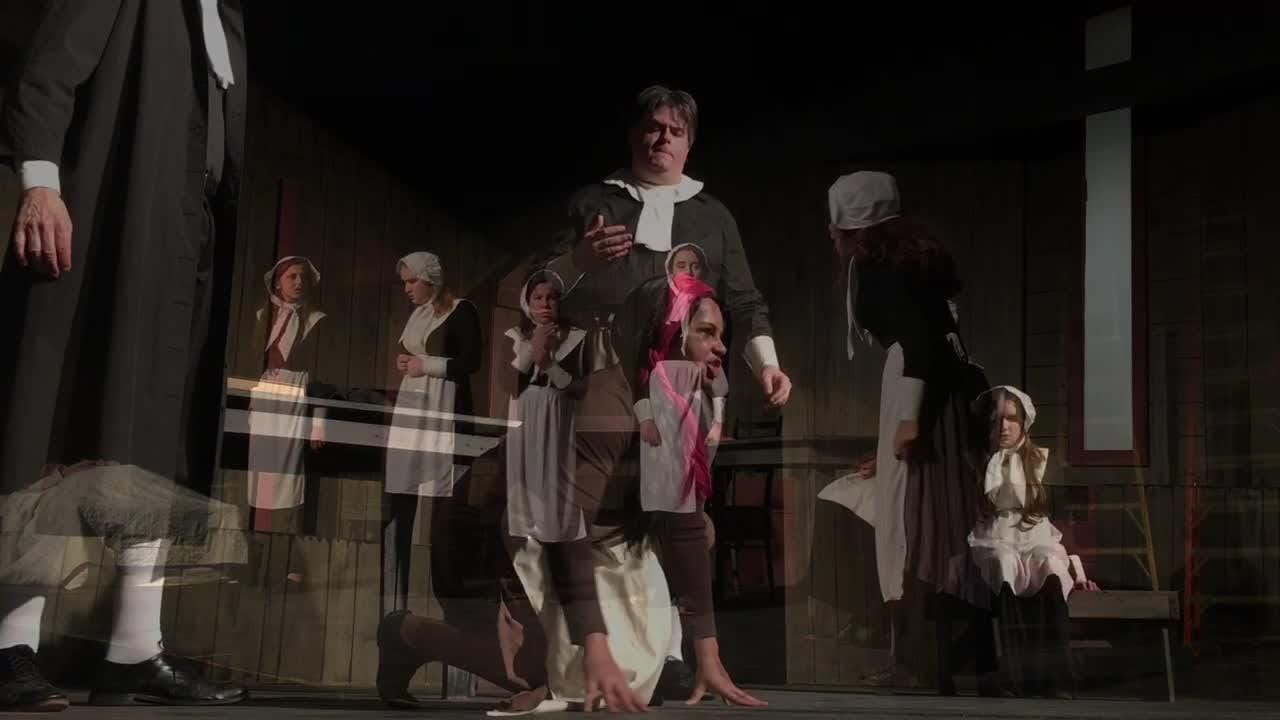 The Crucible, Arthur Miller's clsssic play set during the infamous Salem witchcaft trials, will be performed at Surfside Playhouse in Cocoa Beach.