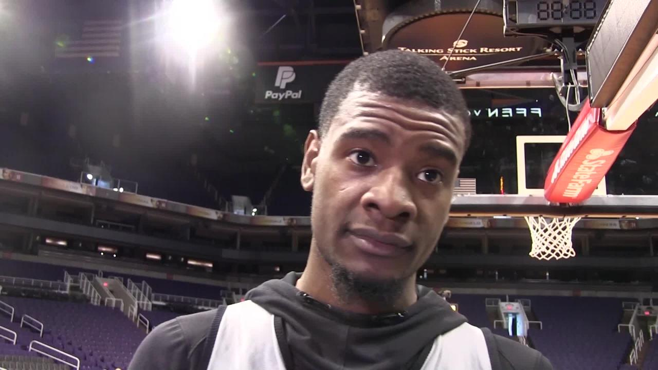Phoenix Suns wing player Josh Jackson talks about his style of play after scoring a season-high 22 points in Sunday's loss to the Charlotte Hornets.