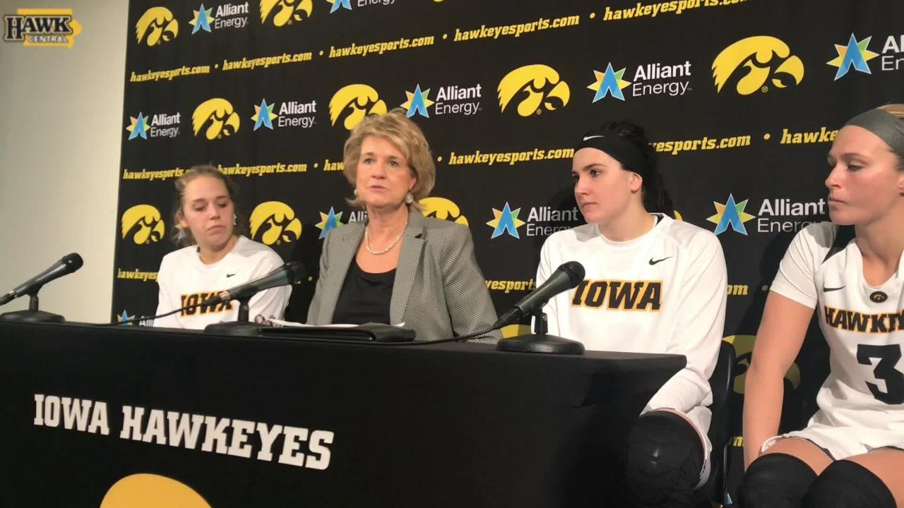 Lisa Bluder breaks down Iowa's 71-53 win over Wisconsin.