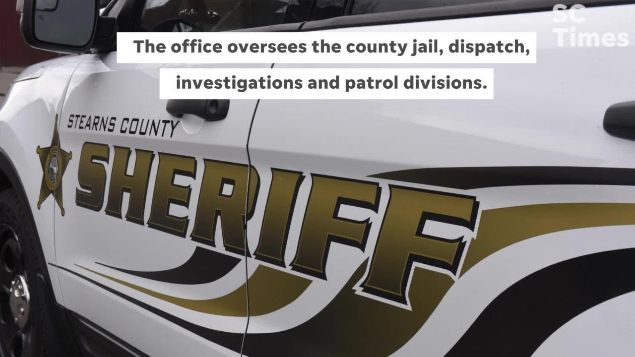 The Stearns County Sheriff's Office oversees the seventh most populous county in Minnesota, according to state data.
