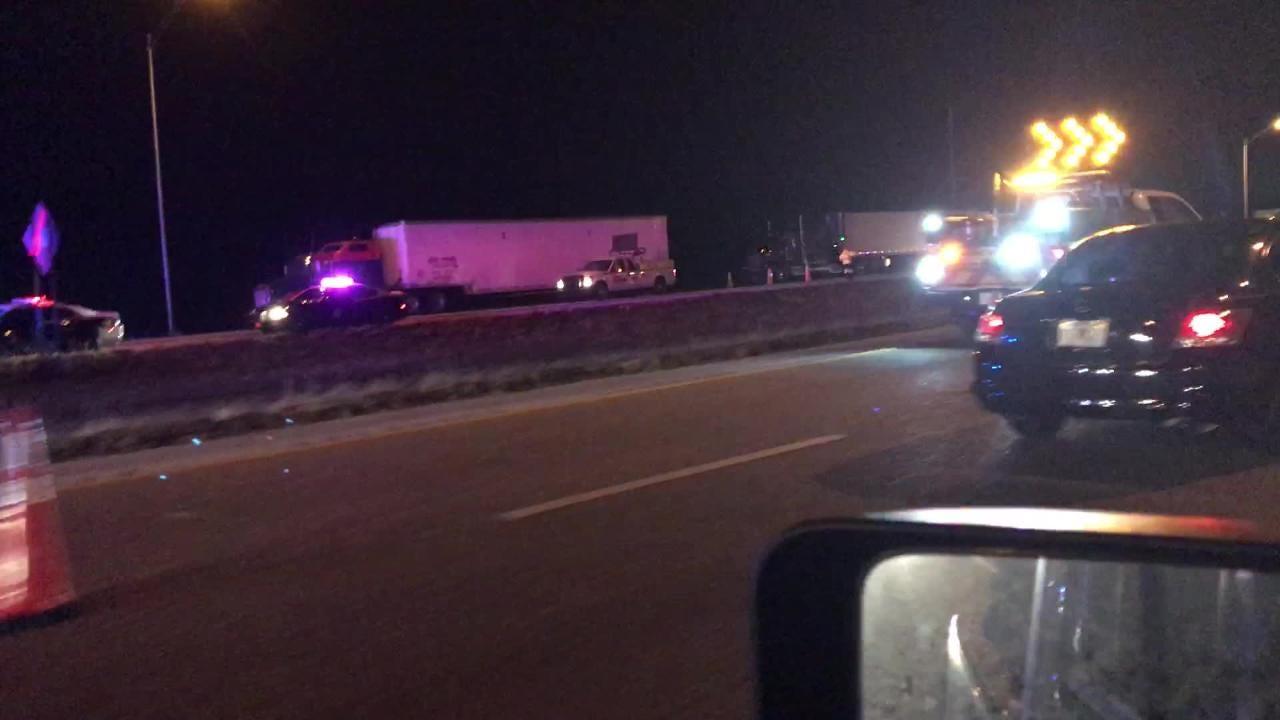 Crews work scene of fatal crash on I-95 near Hobe Sound