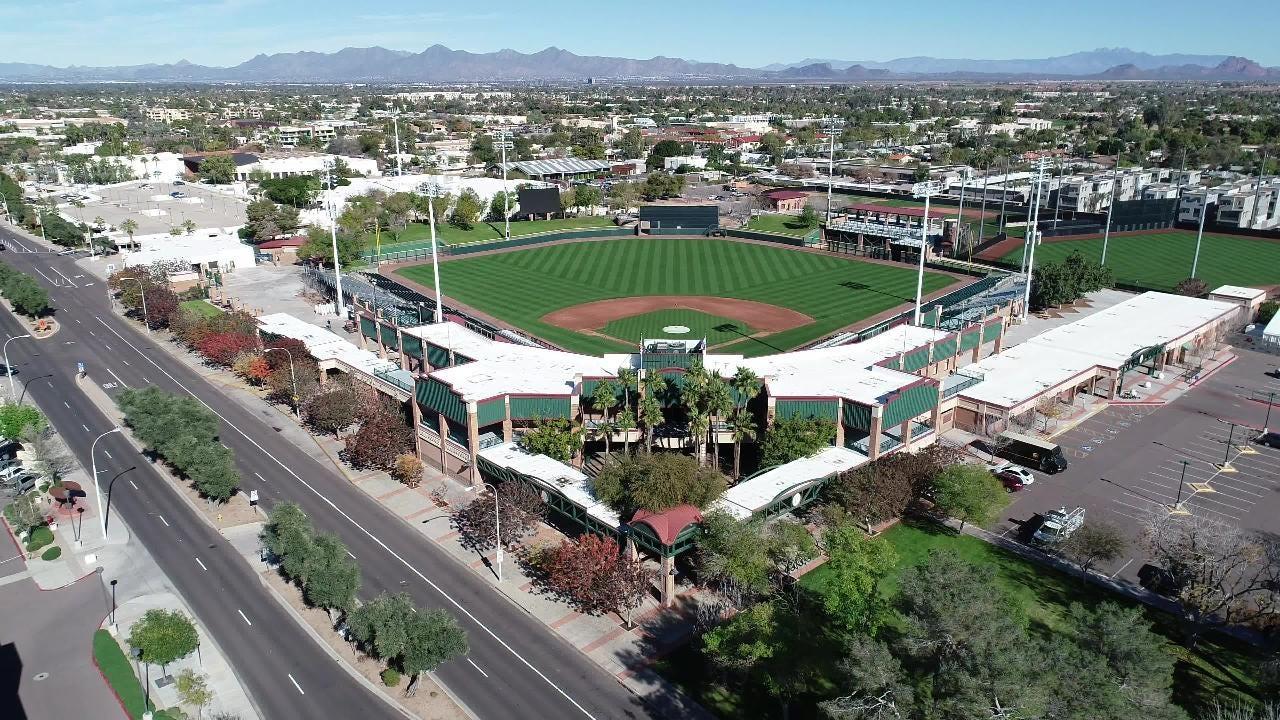 Take a peek inside Scottsdale Stadium, Cactus League home of the San Francisco Giants.