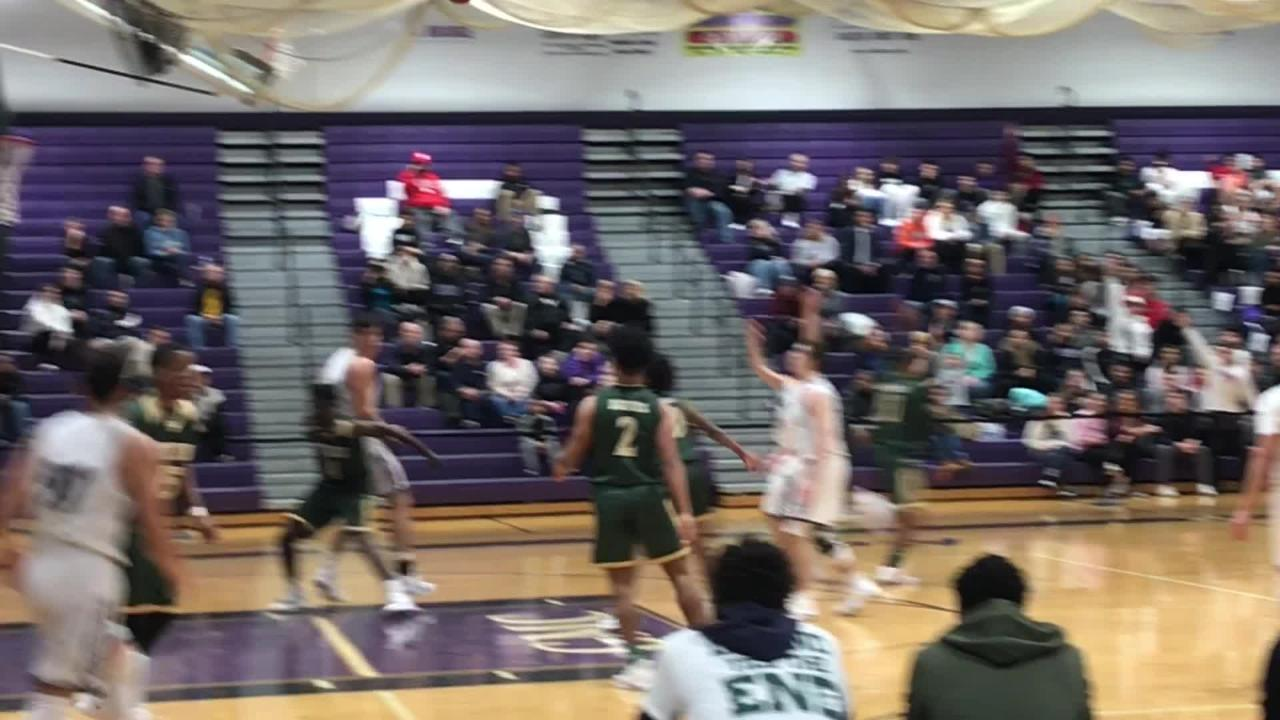 The Old Bridge boys basketball team defeated J.P. Stevens 55-47 in a GMC Red Division matchup on Tuesday, Jan. 8, 2019.