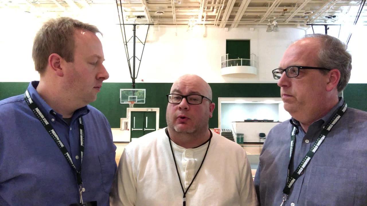 de105332064d Michigan State basketball s Matt McQuaid blankets Purdue s Carsen Edwards