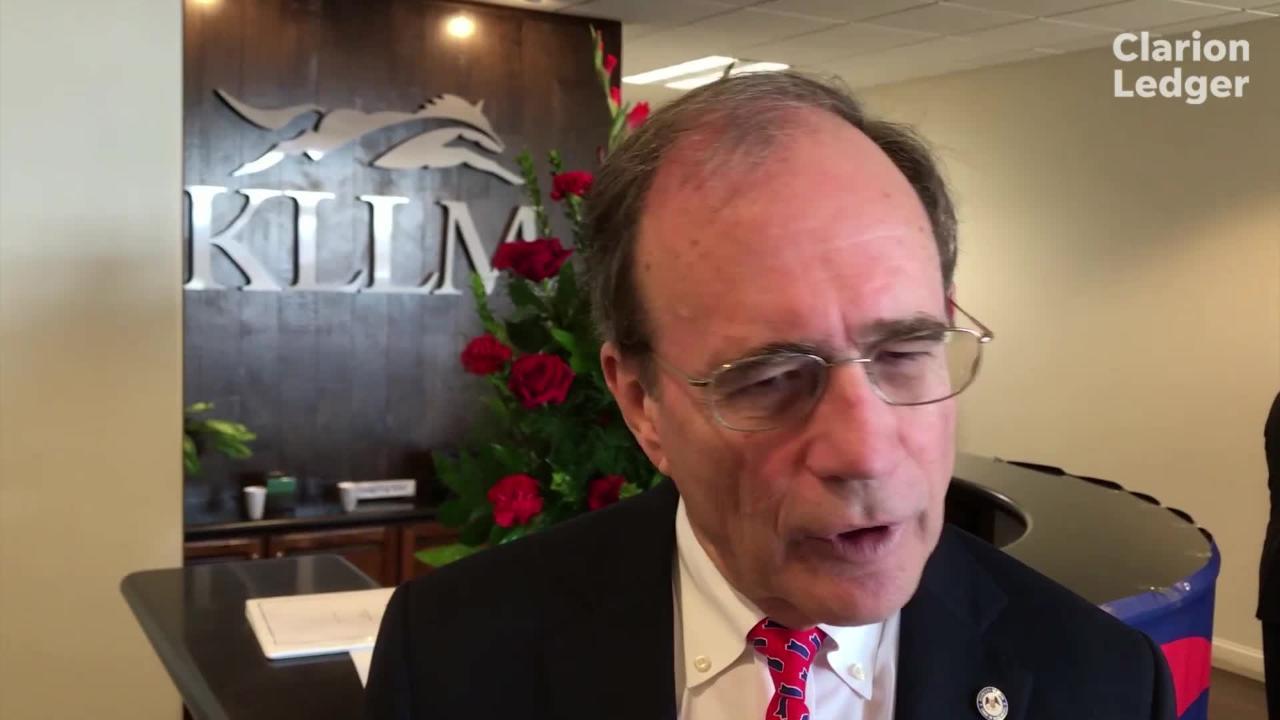 Delbert Hosemann, Mississippi's secretary of state since 2008, announces bid for LT. Gov.