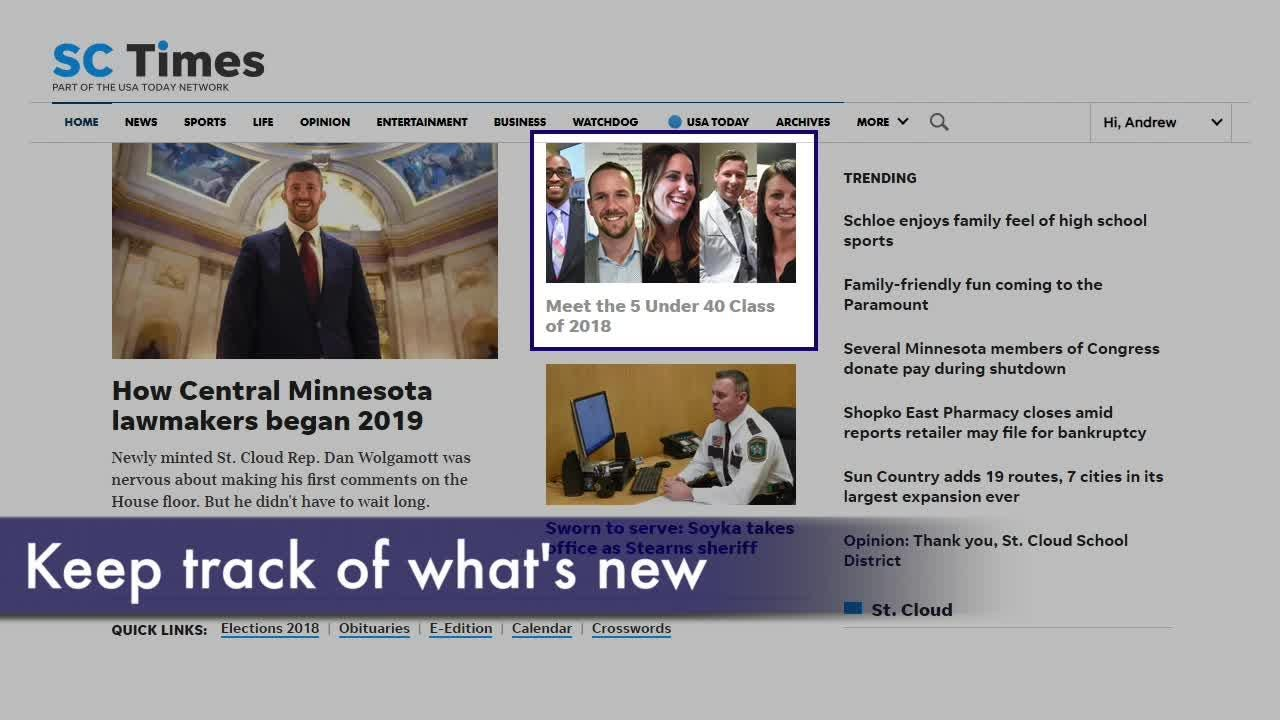 The cleaner, list-based design will look familiar to users of the SC Times app and mobile website, offering a bright new way to get the news.