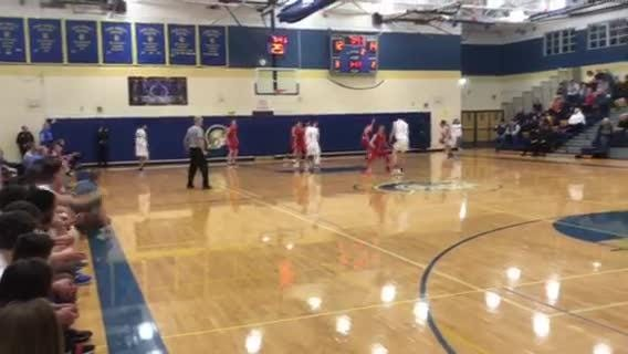 Action from M-E's comeback win against Owego on Wednesday night.