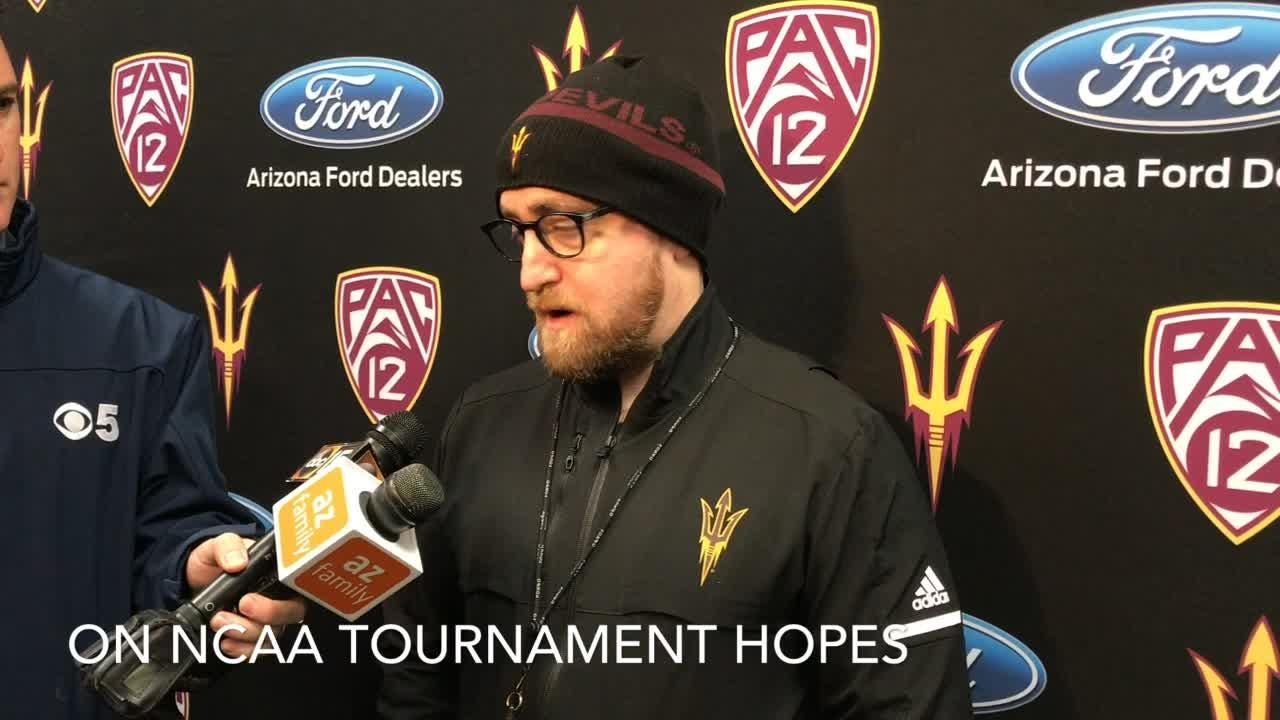 ASU hockey coach Greg Powers talks surging Sun Devils, captain Brinson Pasichnuk and NCAA Tournament hopes