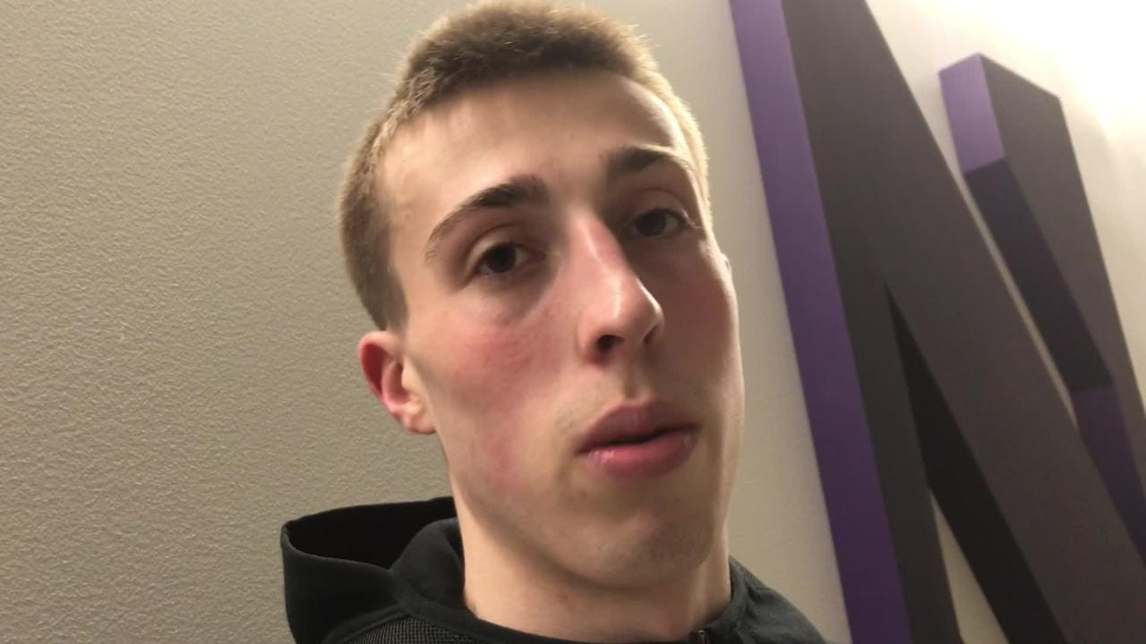 Iowa freshman forward Joe Wieskamp had his finest game against Northwestern. Hear him talk about why it happened and the significance of it: