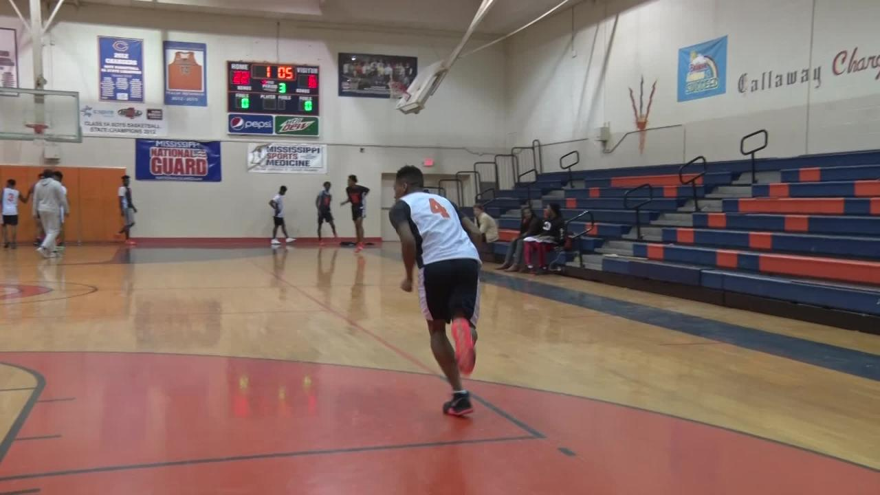 Callaway High School has a sophomore star player on the rise, and his name is Daeshun Ruffin.
