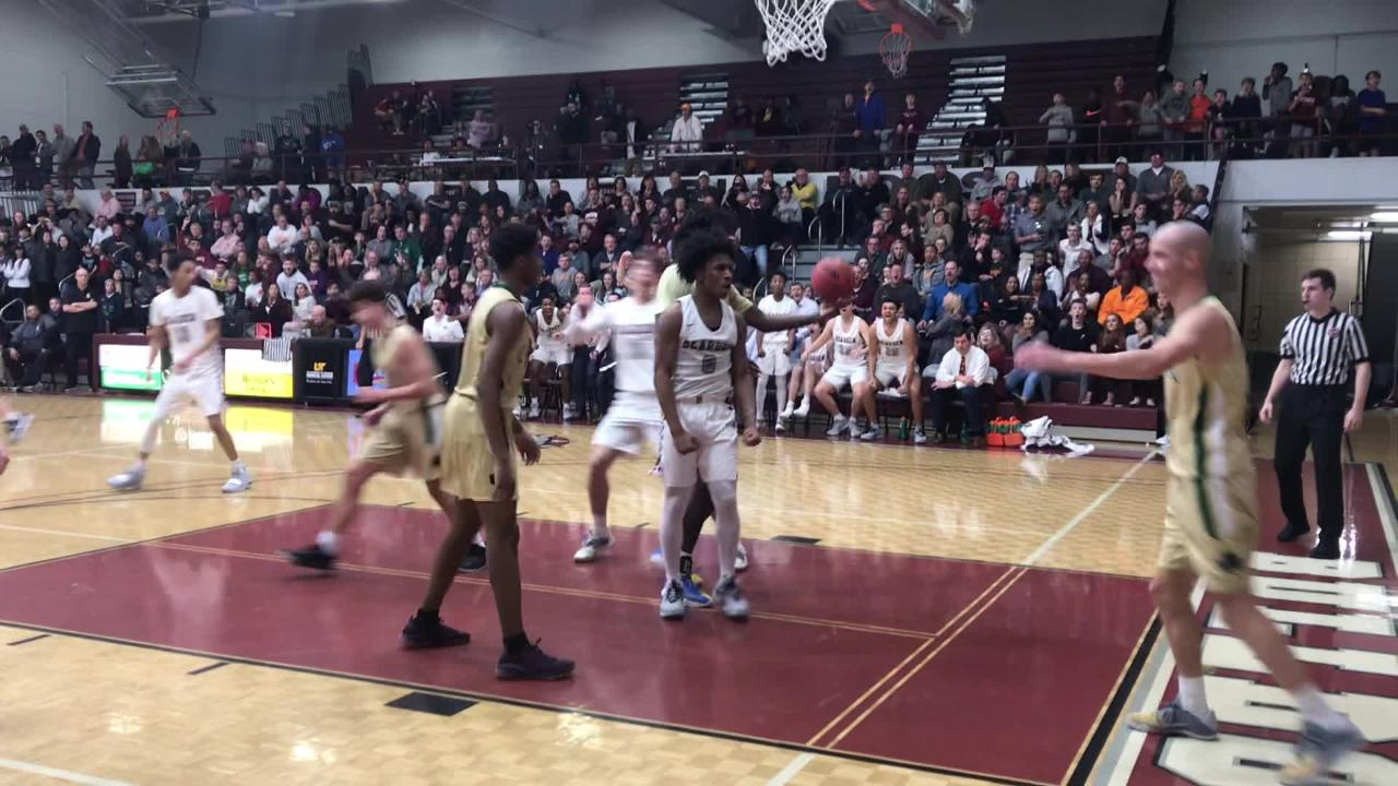Bearden senior guard Ques Glover had a few highlights against Knoxville Catholic, including this poster dunk.