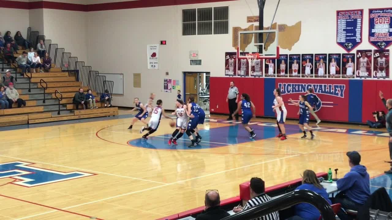 Eleven players scored in Licking Valley's 70-42 rout of Danville.
