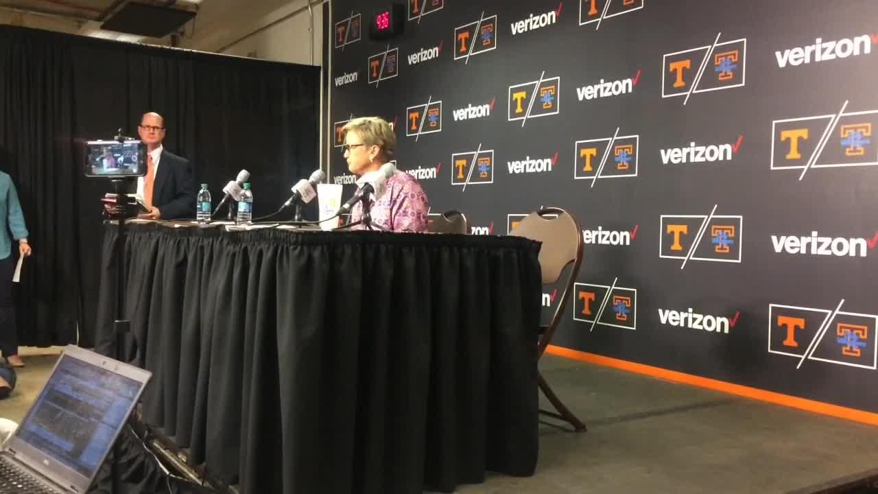 The Lady Vols fell behind by 17 points in the first quarter and never completely recovered in losing to Kentucky