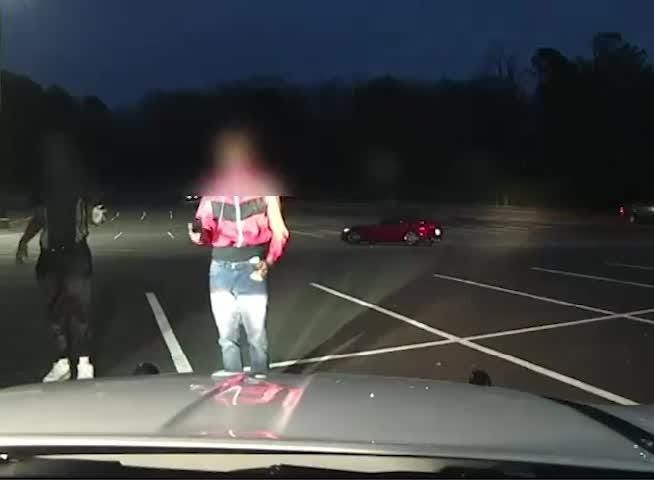 The Ridgeland Police Dept. released dashcam video of New Year's Day incident involving an officer and two teens with a toy gun.