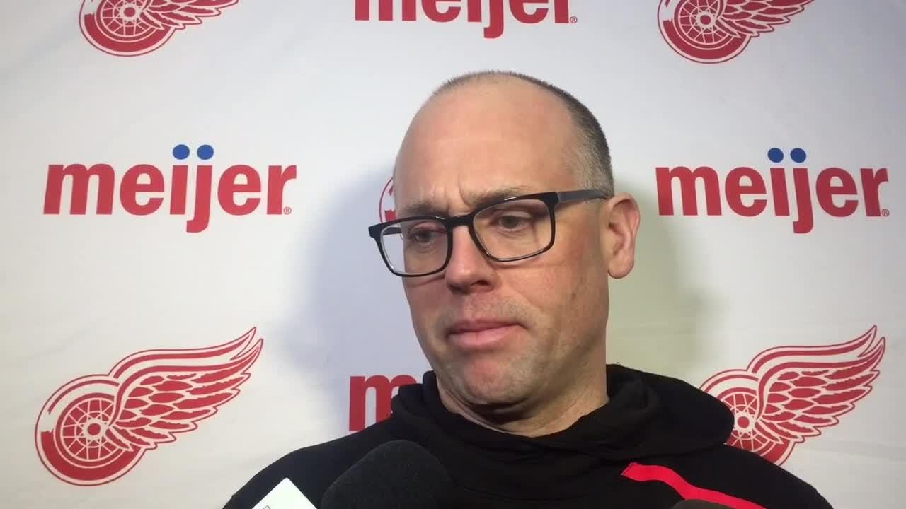 It's probably going to be a noisy night in Winnipeg, the Detroit Red Wings say on Friday,  Jan. 11, 2019 in Winnipeg, Manitoba.