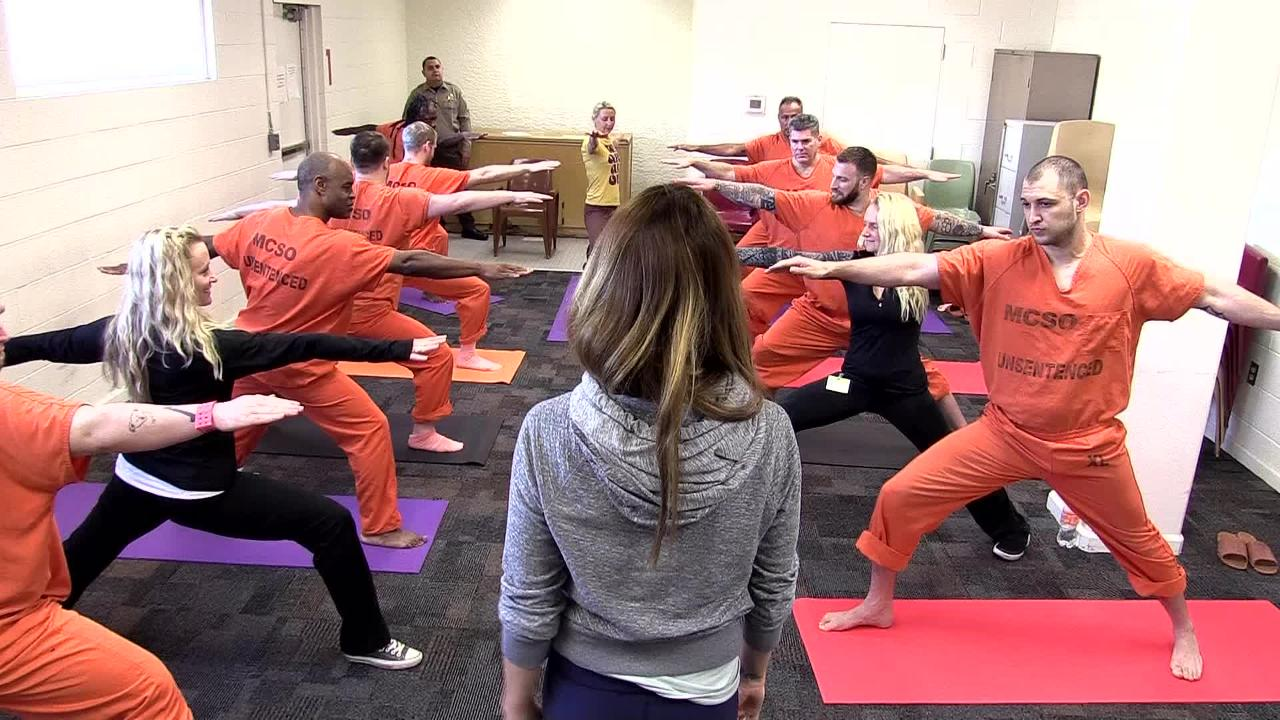 Prison Yoga Project works to help inmates cope with life