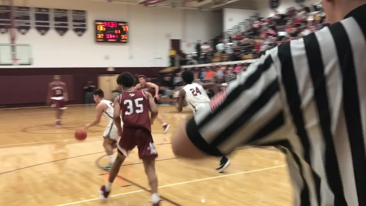 Newark cut a 16-point deficit to two but ultimately fell 67-61 at unbeaten Canal Winchester.