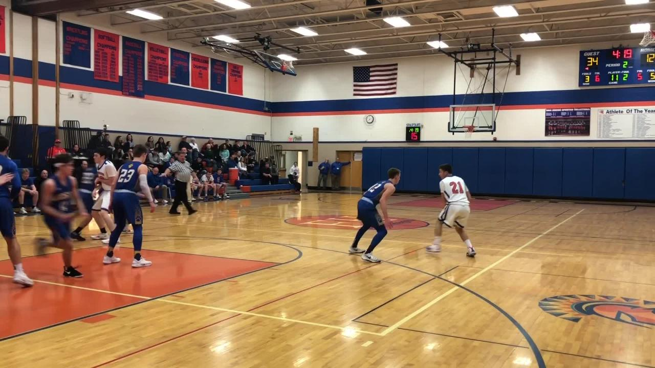 Highlights from Lansing's 67-30 victory over Thomas A. Edison in boys basketball Jan. 11, 2019 in Elmira Heights.