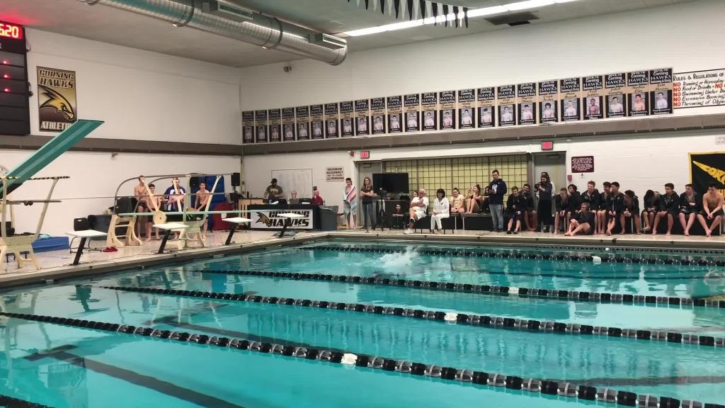 Video: Diving from Horseheads at Corning meet