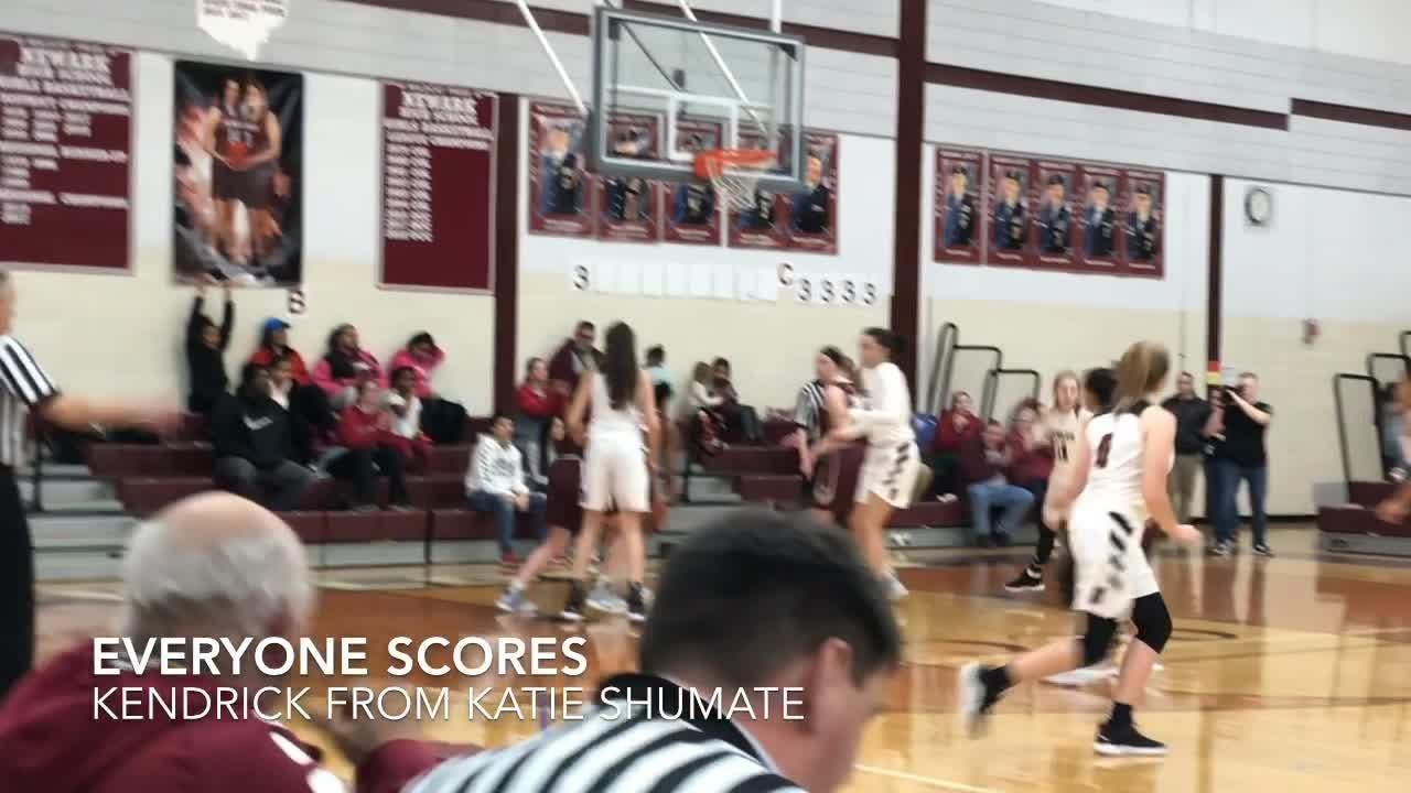 Host Newark girls made 11 3-pointers in a 70-49 OCC-Capital win against Canal Winchester.