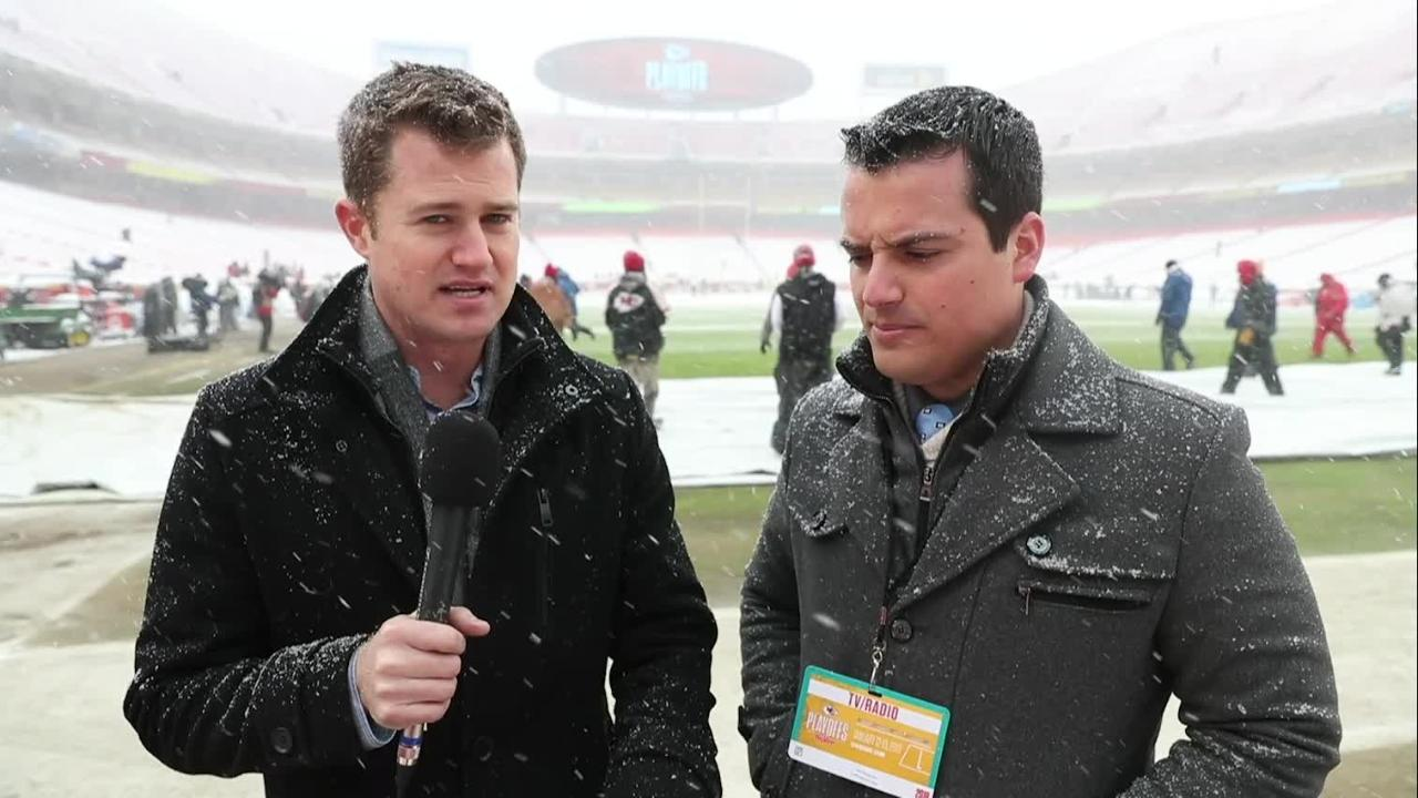 Keefer and Erickson talk Colts/Chiefs in the snow