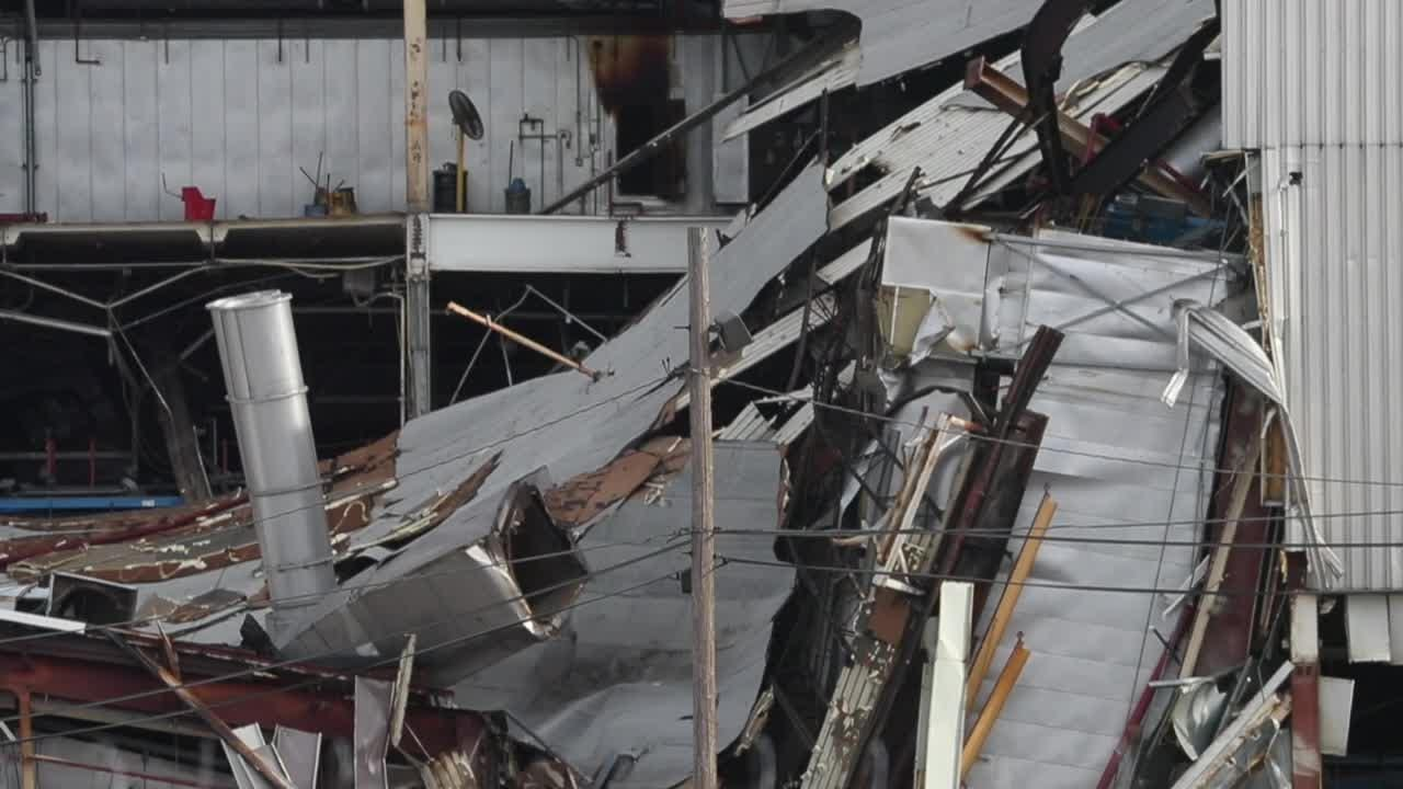 Demolition accident claims the life of a Miami, Florida man working on dismantling the former auto plant Friday.