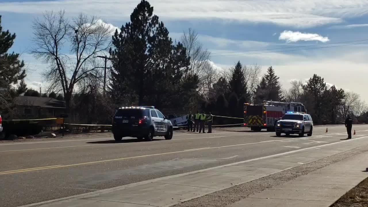 One person died following a crash in southwest Fort Collins. Investigators believe a medical condition could have contributed to the crash.