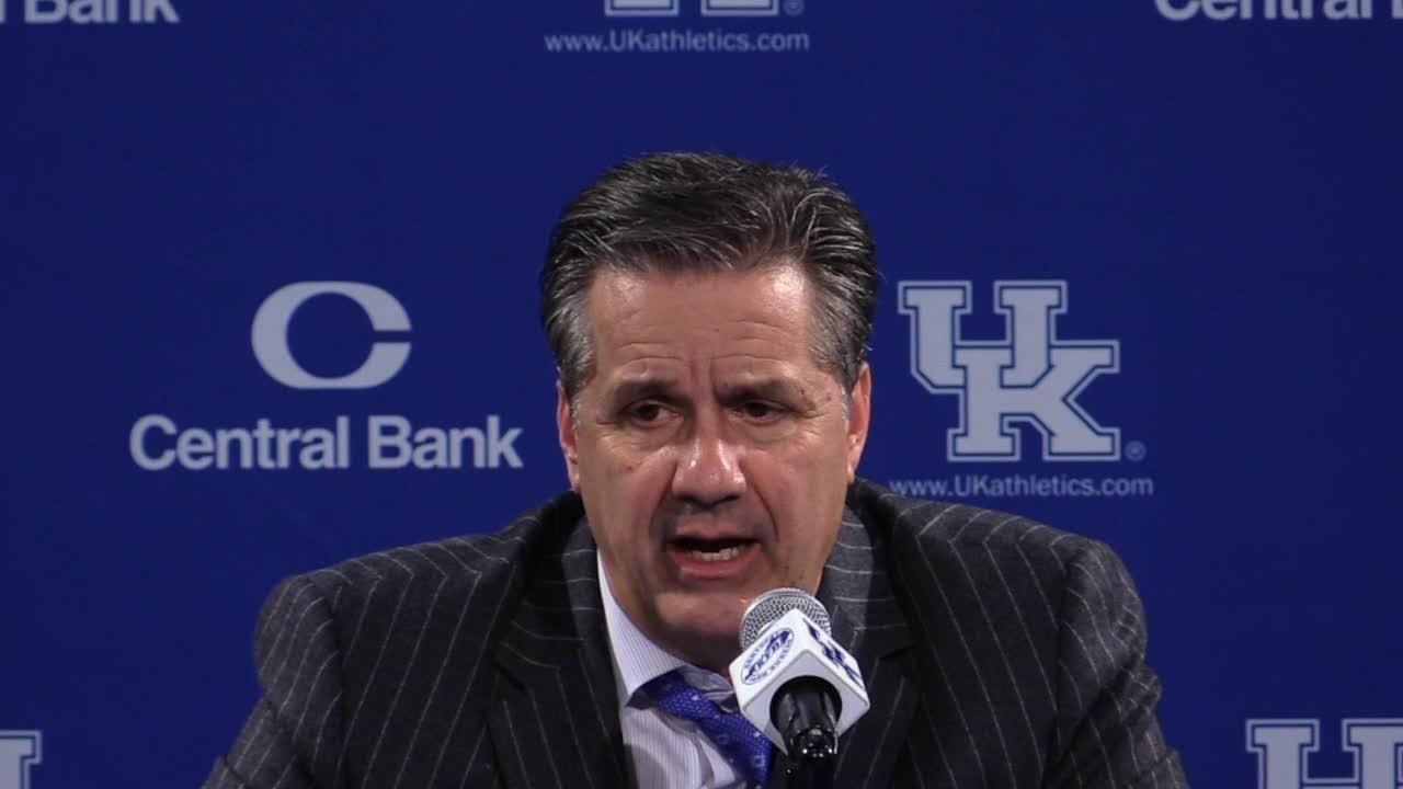Kentucky's John Calipari on tough win over Vanderbilt