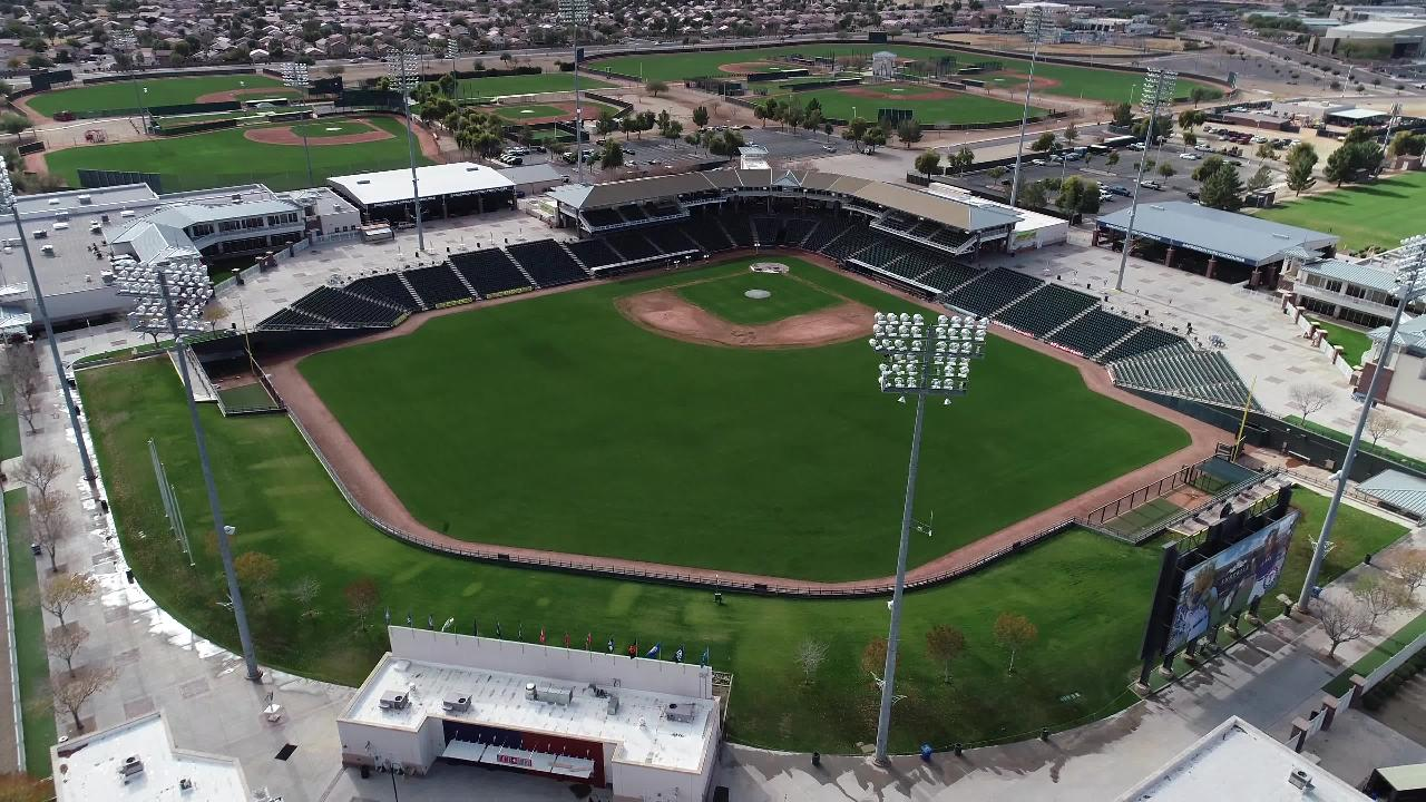 A look inside Surprise Stadium, Cactus League home of the Kansas City Royals and Texas Rangers.