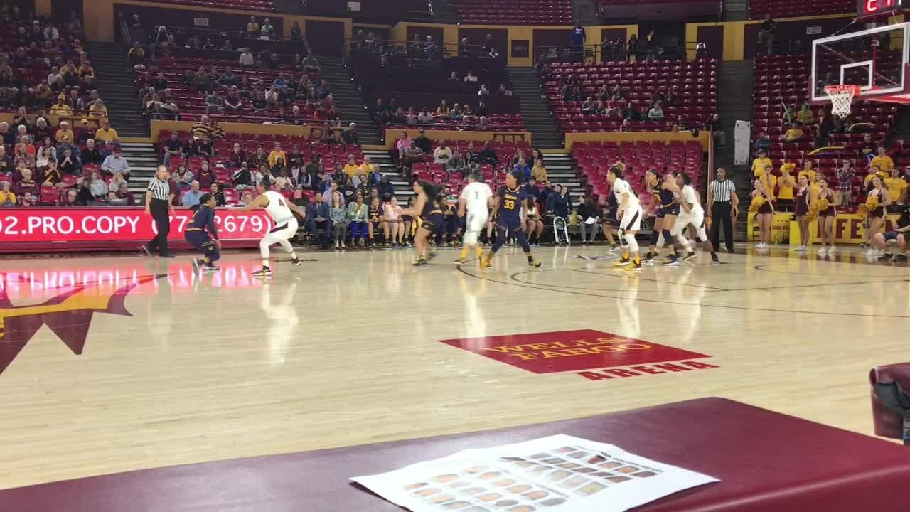 ASU WBB coach Charli Turner Thorne on 62-61 win over No. 24 California